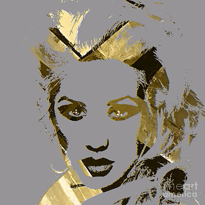 Christina Aguilera Collection Poster by Marvin Blaine