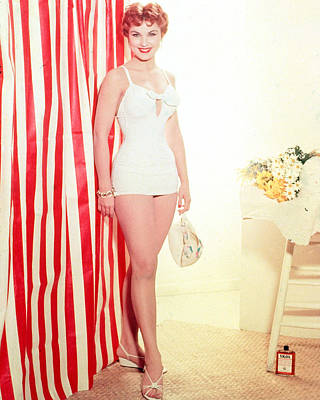 Debra Paget Poster by Silver Screen