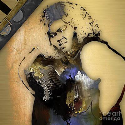 Empire's Gabourey Sidibe Becky Poster by Marvin Blaine