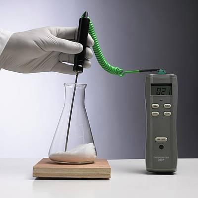 Endothermic Reaction Poster
