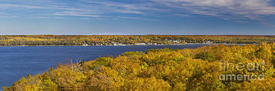 Fall In Door County Poster by Twenty Two North Photography