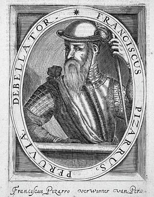 Francisco Pizarro (c1475-1541) Poster by Granger