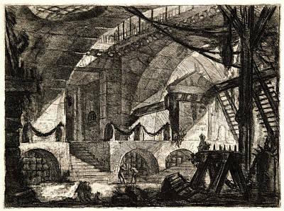 Giovanni Battista Piranesi Italian, 1720 - 1778 Poster by Litz Collection