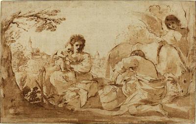 Giovanni Francesco Barbieri, Called Guercino Italian Poster by Quint Lox