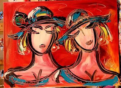 Girls Poster by Mark Kazav