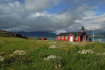 Greenland, Erik's Fjord, Brattahlid Poster