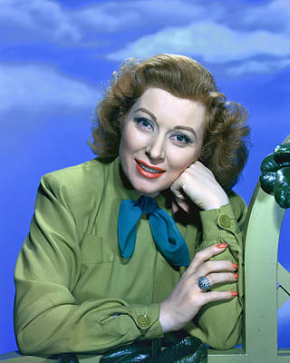 Greer Garson Poster by Silver Screen