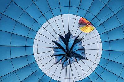Hot Air Balloon Poster by Photostock-israel