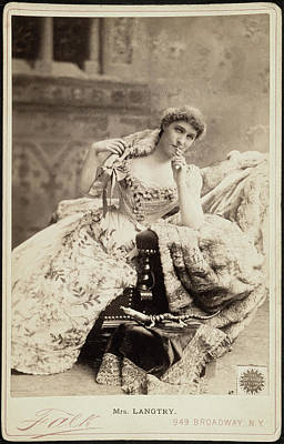 Lillie Langtry (1852-1929) Poster