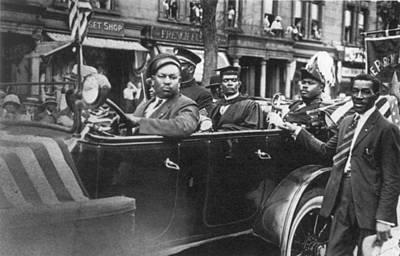 Marcus Garvey (1887-1940) Poster by Granger