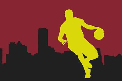 Miami Heat Poster by Joe Hamilton