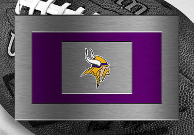 Minnesota Vikings Poster by Joe Hamilton