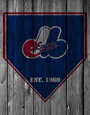Montreal Expos Poster by Joe Hamilton