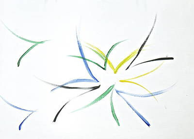 Poster featuring the painting Simplicity by Tracey Myers