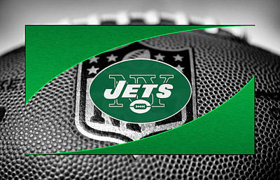 New York Jets Poster by Joe Hamilton