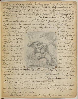 Notebook Of William Blake Poster by British Library