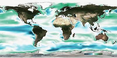 Ocean-atmosphere Co2 Exchange Poster