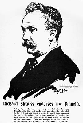 Richard Strauss (1864-1949) Poster