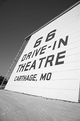 Route 66 Drive-in Theatre Poster