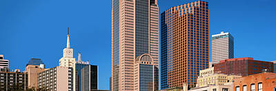 Skyscrapers In A City, Dallas, Texas Poster by Panoramic Images