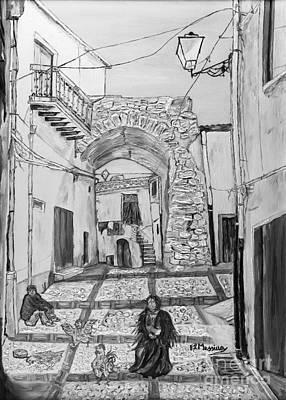 Sutera Rabato Antico Poster by Loredana Messina