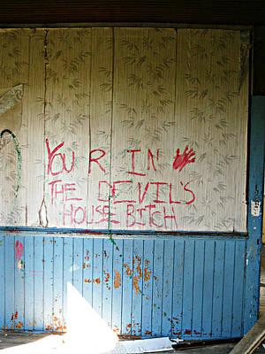 The Devils House Poster by Cyryn Fyrcyd