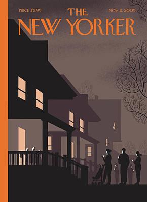 New Yorker November 2nd, 2009 Poster