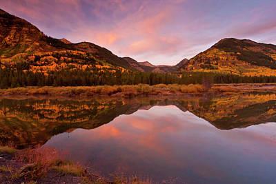 Usa, Colorado, Rocky Mountains Poster
