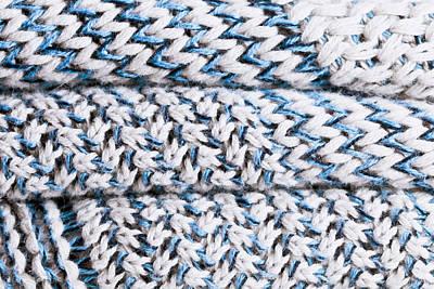 Wool Pattern Poster by Tom Gowanlock