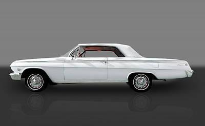 1962 Impala Ss - 409 W/409hp Poster by Frank J Benz