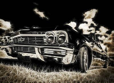 65 Chev Impala Poster by motography aka Phil Clark