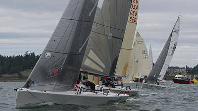Whidbey Island Race Week Poster