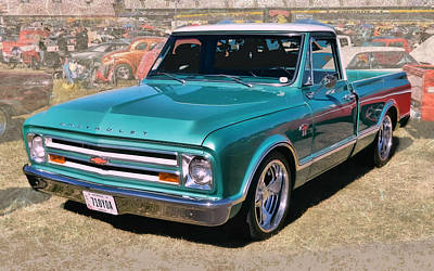 '67 Chevy Truck Poster