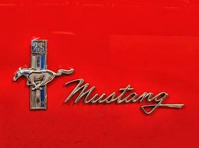 68 Mustang Poster