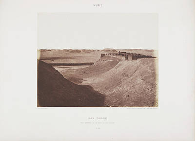 Photograph Of The Egyptian Landscape Poster
