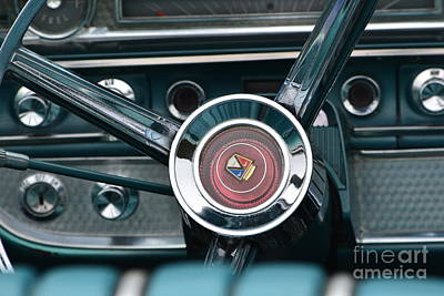 Classic Ford Detail Poster by Dean Ferreira