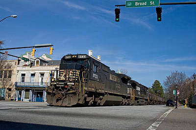 6th Street Train Poster by Joseph C Hinson Photography