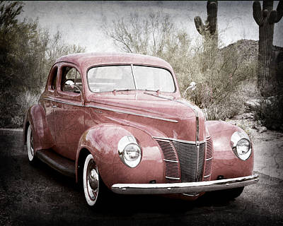 1940 Ford Deluxe Coupe Poster