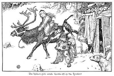 Andersen The Snow Queen Poster by Granger