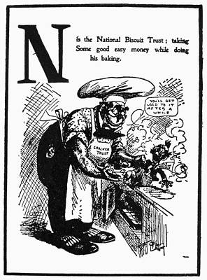 Anti-trust Cartoon, 1902 Poster by Granger