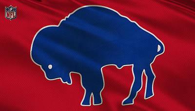 Buffalo Bills Uniform Poster by Joe Hamilton