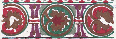 Byzantine Ornament Poster by Litz Collection