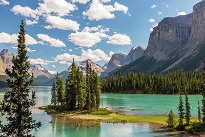 Canada, Alberta, Jasper National Park Poster by Jamie and Judy Wild