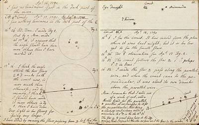 Caroline Herschel Comet Discovery Poster