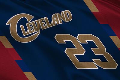 Cleveland Cavaliers Uniform Poster by Joe Hamilton