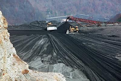 Coal Sludge Dam Poster by Jim West