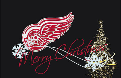 Detroit Red Wings Poster by Joe Hamilton