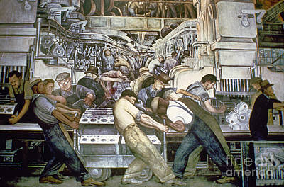 Diego Rivera - Detroit Poster by Granger
