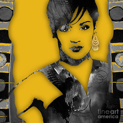 Empire's Grace Gealey Anika Gibbons Poster by Marvin Blaine