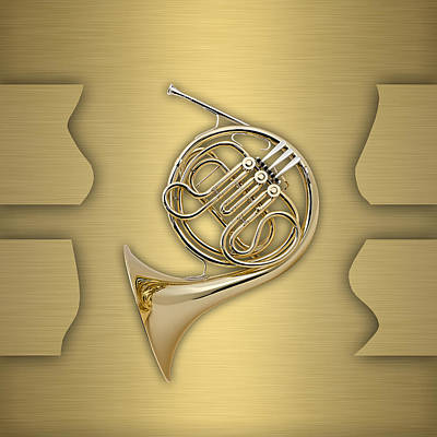 French Horn Collection Poster